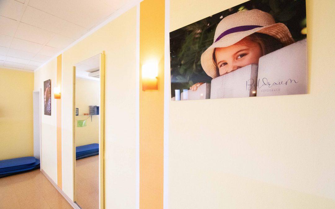 Fotoausstellung in der Hebammenpraxis
